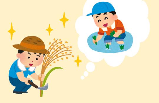 稲刈り体験する子供.png